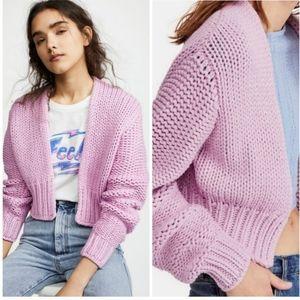 New Free People Glow For It Cardigan XS